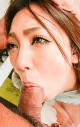 Sexy Lingerie Hardcore - Hikari busty sucks boner so well after using vibrator in her cunt