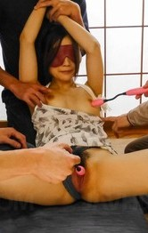 Japanese Lingerie Categries - Mayuka Akimoto is aroused with vibrators and fingered and squirts