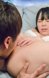Japanese Lingerie Masturbation - Ruka Kanae is undressed of braid dress, sucks dong and is fucked