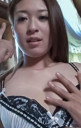 Hot Lingerie Threesome - Marin Koyanagi Asian has hairy twat under vibrators and rubbed