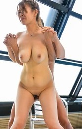Asian Lingerie Porn Categries - Suzuna Komiya has big jugs sucked and rides boner at the pool